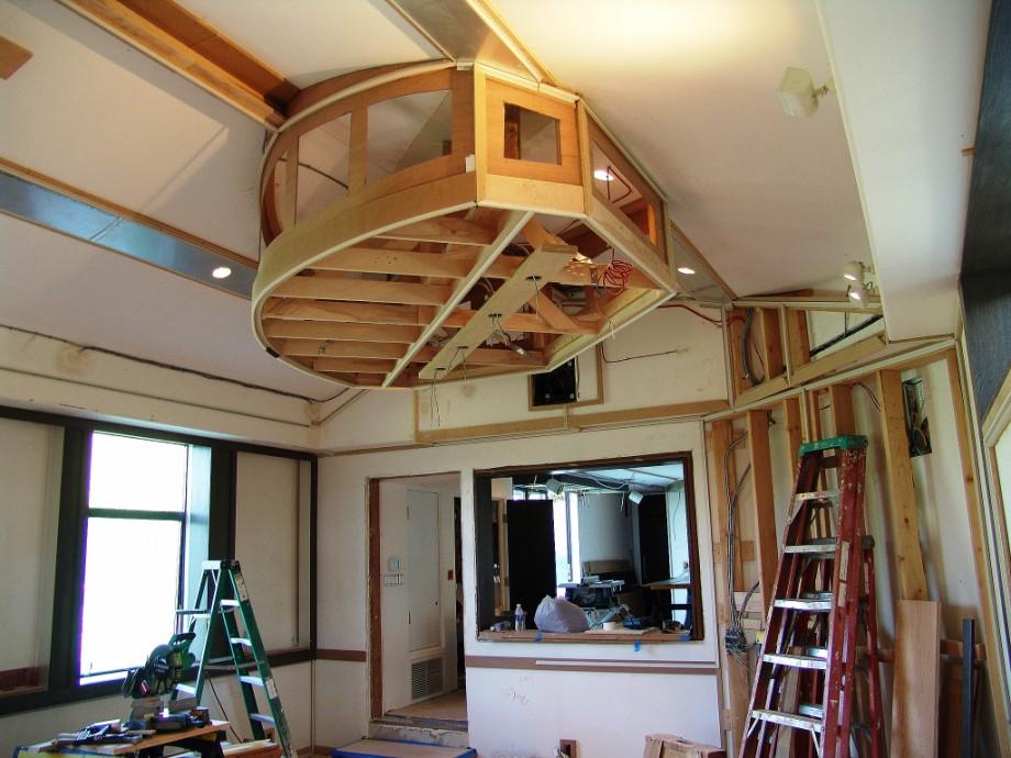 Sea Vista Construction Steven Klein S Sound Control Room